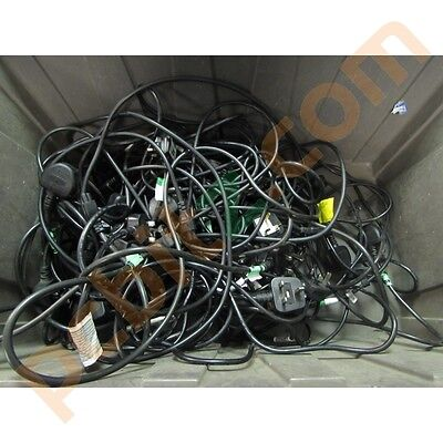 Clover Leaf Laptop Power Cables C5 Leads x 50 joblot Used Good Working Order