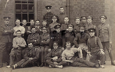Soldier Group 18th Hussars 20th Hussars Burniston Cavalry barracks Scarborough