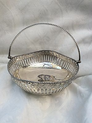 Solid Silver Basket By William Hutton & Sons 1913