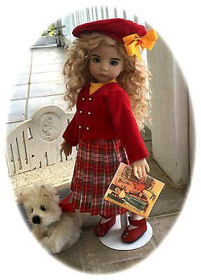 "New School Days Jacket, Jumper, Top & More Pattern 4 Effner 13"" Little Darling !"