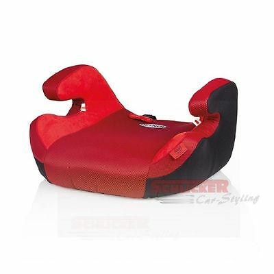 Komfort Kindersitzerhöhung Safe UP XL nach ECE R44/04 15-36kg Racing Red