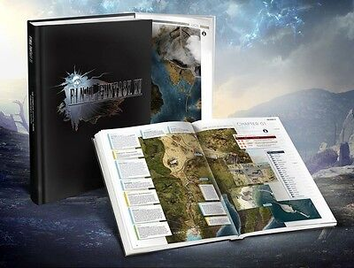Final Fantasy XV Strategy Guide Collector Edition (English language)