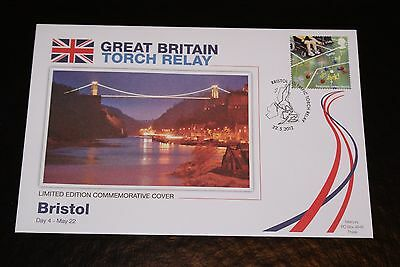 2012 London Olympics - Great Britain Torch Relay Fdc - Bristol Day 4