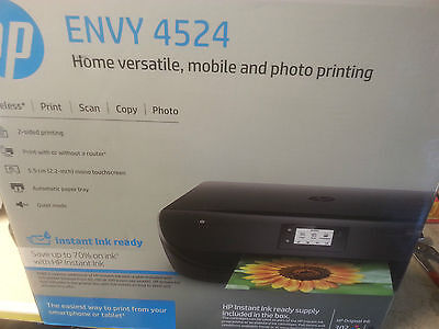 HP Envy 4524 all in one wireless printer(print,scan,copy,photo)