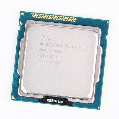 Intel Xeon E3-1265Lv2 Quad Core CPU 2.5 GHz 5GT/s 8MB Cache Socket 1155 - SR0PB