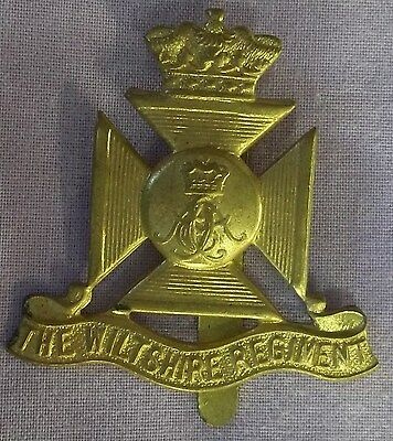 The Wiltshire Regiment - Cap Badge - Military - Army