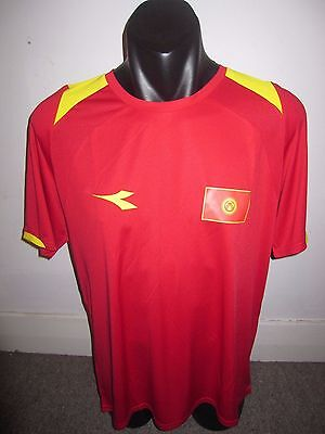 Kyrgyzstan Diadora National Team Shirt Jersey Football Soccer Large