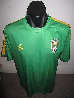 Grenada Admiral National Team Shirt Jersey Football Soccer Large RARE