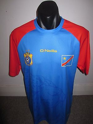 DR Congo O'Neills National Team Shirt Jersey Football Soccer X-Large RARE