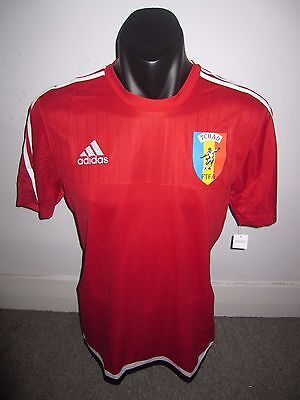 Chad Adidas National Team Shirt Jersey Africa Football Soccer Large RARE