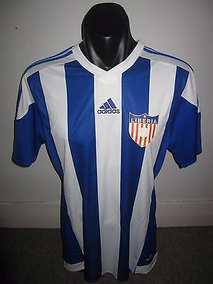 Liberia Adidas National Team Shirt Jersey Football Soccer Large RARE