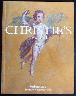 Auction Catalogue Christie's New York Antiquities December 7, 2000 Egyptian