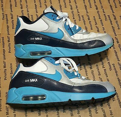 Nike Air Max 90 Boys Girls Kids Youth Sneakers Shoes Size 6Y SHIPS FAST