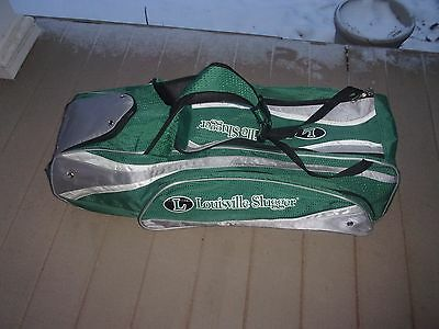 Louisville Slugger Green Baseball Lift Bag Used