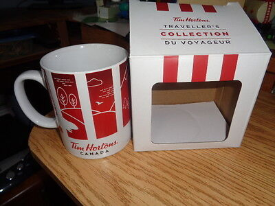 Tim Hortons Travellers Collection Mug - #016 - New