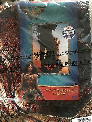 Wonder woman new film  woven tapestry throw blanket
