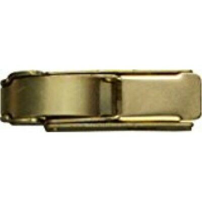 "National Hardware V35 2-3/4"" Draw Hasp in Brass"