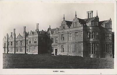Kirby  Hall - ,now In Ruins - Rare