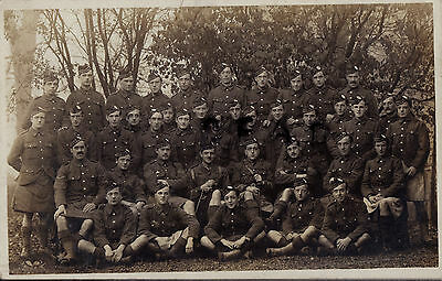 WW1 Soldier Officer Group 9th Battalion Royal Scots Dandy Ninth