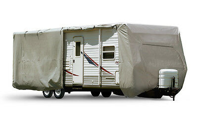 New Travel Trailer Cover, Super-Duty, 22-24', Waterproof, RV Cover