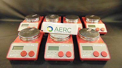 Lot Of 7 - Chemglass OptiMag-ST Hot Plate Magnetic Stirrer CG-1993-T-10