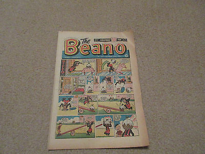 BEANO COMIC No 1014- Dec 23rd 1961-good condition-Silver Age-Christmas issue