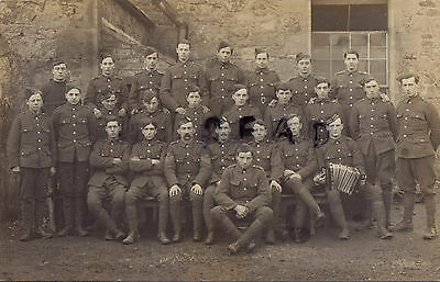 Unusual WW1 soldier group Royal Scots Kitchener's New Army