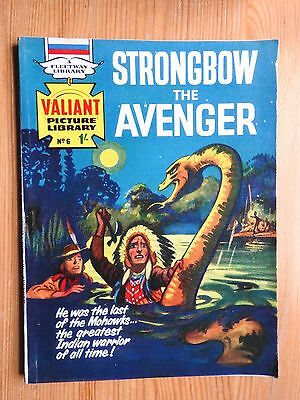 Valiant Picture Library #6 Strongbow the Avenger - VG+  Fleetway