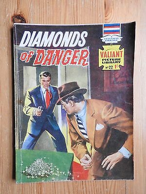 Valiant Picture Library #22 Diamonds of Danger - VG+  Fleetway