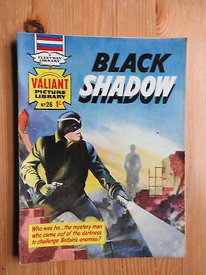 Valiant Picture Library #26 - Black Shadow - VG+ Fleetway