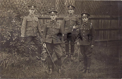 WW1 soldier group City of London Yeomanry Rough Riders
