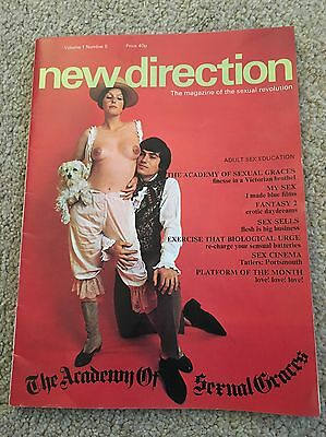 Vintage New Direction Magazine From 1971