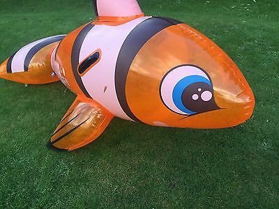 Inflatable Clown Fish Finding Nemo Pool Toy