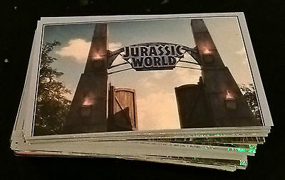 Lot  De  134  Images  Panini  Jurassic  World  Toutes  Differentes