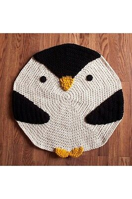 Penquin Rug Great For Baby Room