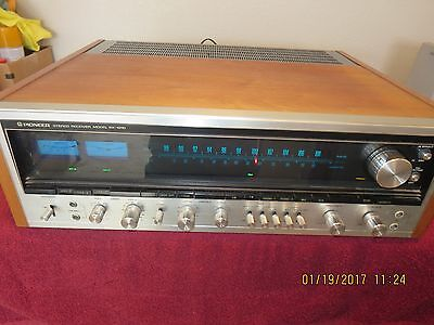 PIONEER SX-1010 Vintage Stereo Receiver EXCELLENT WORKING