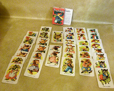 Donkey Card Game : Vintage Family Card Game : Complete