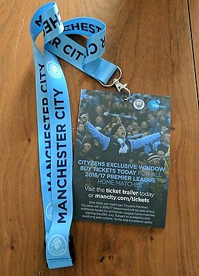 Genuine Manchester City Football Club 2016 Neck Ribbon