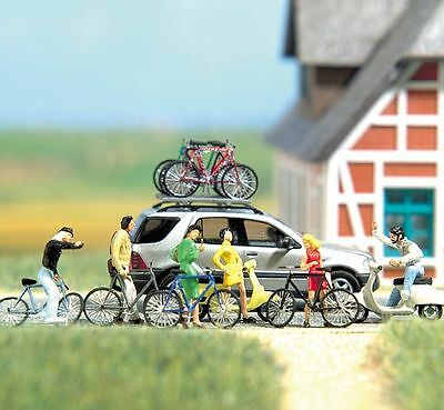 Busch Bicycles and Scooters 6013 HO Scale