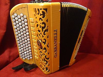 Gabbanelli Chromatic CBA Accordion C System Wood 77 120 LMMH Made in Italy