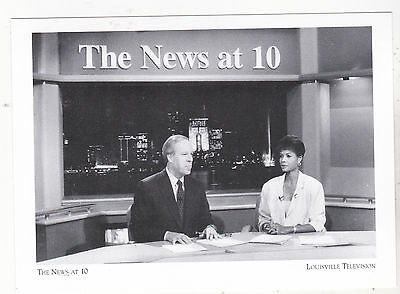 "*Postcard-""The News @ 10"" -1990- *Louisville Television  (#99)"