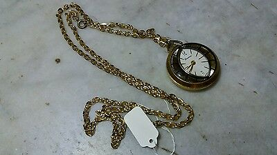 Fine  Swiss - LUCERNE -  mechanical fully working Pocket Watch. Necklace