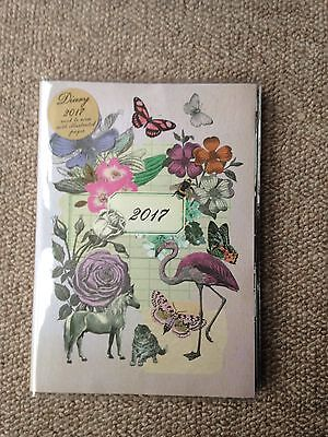 Paperchase Vintage 2017 Diary