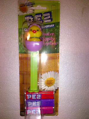 PEZ Dispenser Easter Hippity Hoppities with Candy Baby Chick Egg Brand New