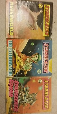 3 starblazer comic early numbers lot 11 under 100