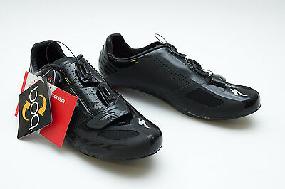 Specialized S-Works Men Carbon Road Cycling Shoes 3 Bolt boa Wire Matte Black