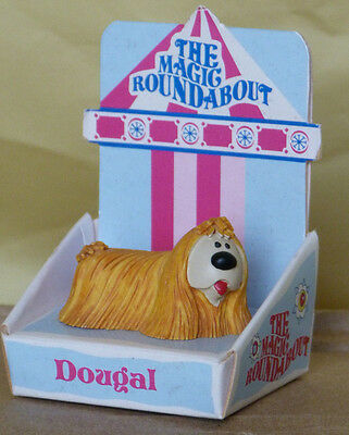 Magic Roundabout Dougal Hand Painted Figure Boxed. Delightful.