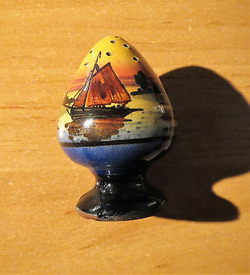 TORQUAY POTTERY PEPPER POT beautifully painted for its size! Watcombe or....