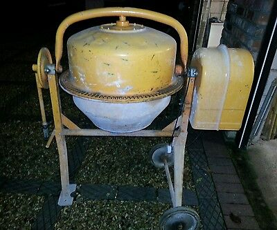 Electric concrete mixer. Collect only