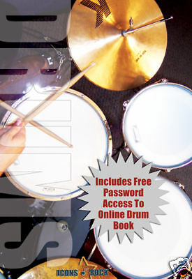 Learn Drum Lessons For Beginners Brand NEW DVD FREE USA SHIPPING
